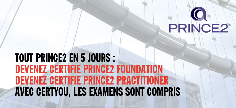 formation PRINCE2 FOUNDATION & PRACTITIONER